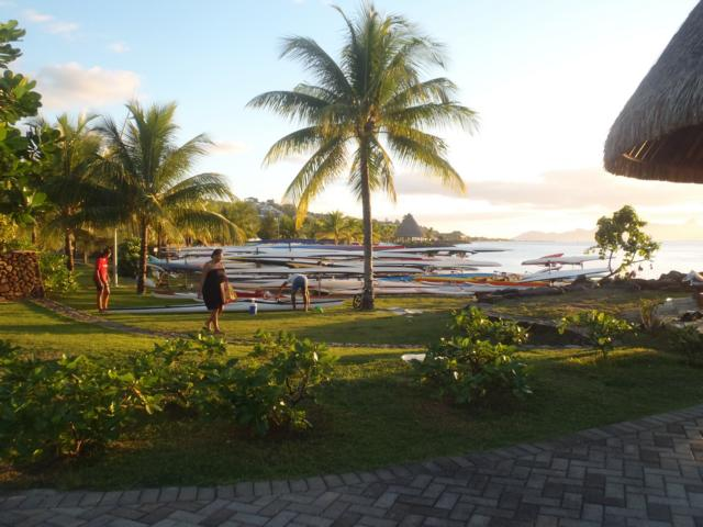 Abendspaziergang in Papeete